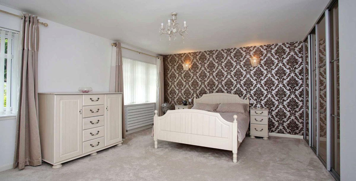 Refurbishment of master bedroom in granite house located in Aberdeen City