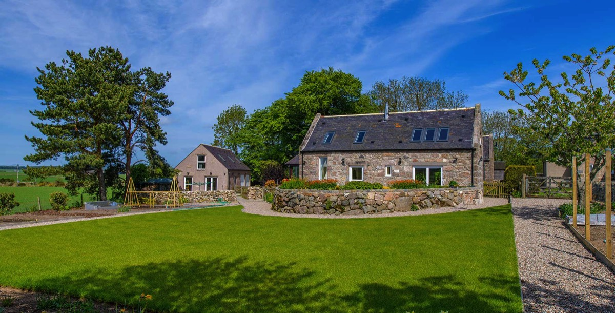 renovated steading in Aberdeenshire